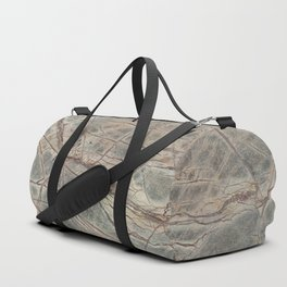 Brown Marble I Duffle Bag