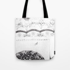 Notebook Collage Tote Bag