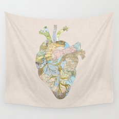 A Traveler's Heart (N.T) Wall Tapestry