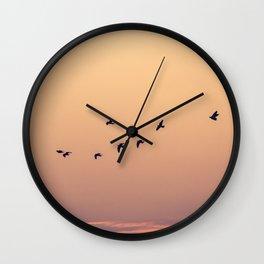 Pájaros Wall Clock