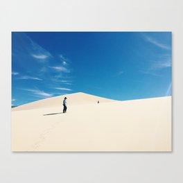 Eureka dunes Canvas Print