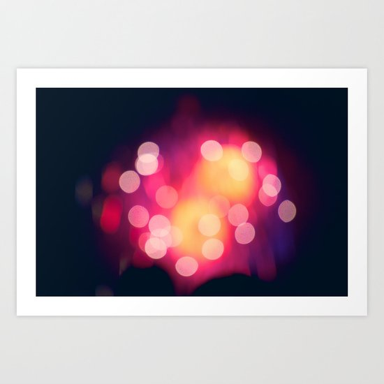 Let The Moment Take You Art Print