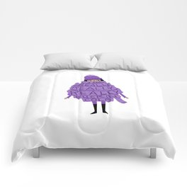 Really Really Really Fuckin Cold (Purple) Comforters