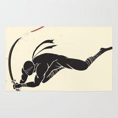 Ninja! Heads will roll! Rug