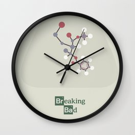 Breaking bad, Heisenberg, Walter White, Jesse Pinkman, Bryan Cranston, drug movies Wall Clock