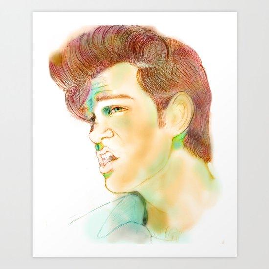 """Mr. Isaak"" Art Print"