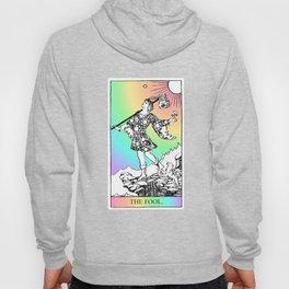 0. The Fool- Pastel Rainbow Tarot Hoody