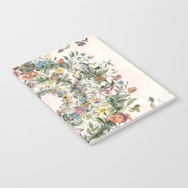 Circle of life- floral Notebook