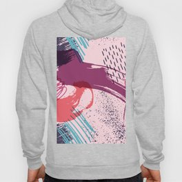 Artistic Paint Splashes Hoody