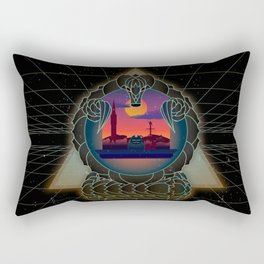 Hygge Retro Rectangular Pillow