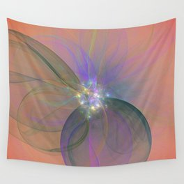 Fairy Blossom Fractal Wall Tapestry