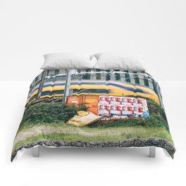Commuter Train Comforters