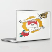 brand new Laptop & iPad Skins featuring Brand New by Sarah Hinds