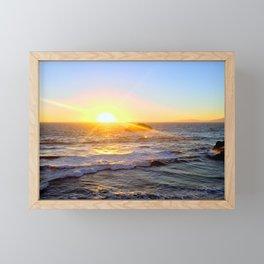 Ocean Beach, CA Framed Mini Art Print