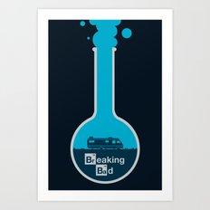 Breaking Bad - poster Art Print