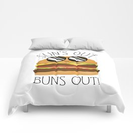 Sun's Out Buns Out! Comforters