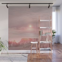 Pastel desert Wall Mural