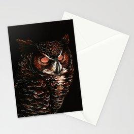 Owl, Barred Owl, Bird Stationery Cards