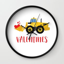 I'm Digging Valentines Cutes Lovers Hearts Day Wall Clock