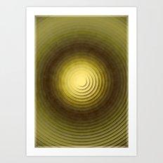 Top Circles  Art Print