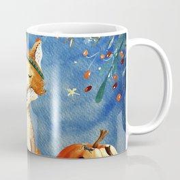 Autumn Woodland Friends Fox Forest Illustration Coffee Mug
