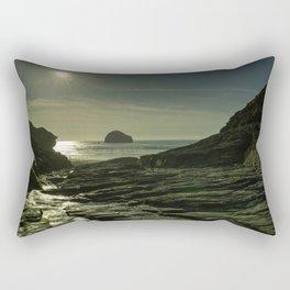 Trebarwith Strand Sunshine Rectangular Pillow