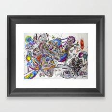 Primitives Under the Same Heaven Framed Art Print