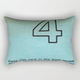 Ilium Public Library Card No. 4 Rectangular Pillow