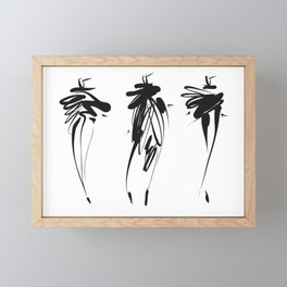 Fashion Framed Mini Art Print