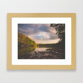 Sope Creek, Georgia Framed Art Print