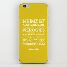 Pittsburgh — Delicious City Prints iPhone & iPod Skin