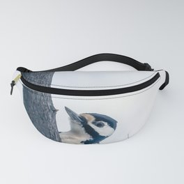 Great spotted woodpecker Fanny Pack
