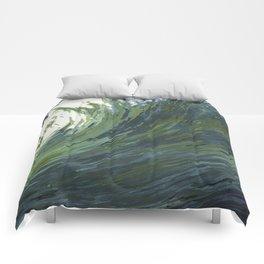 Big Pacific Ocean Wave Comforters