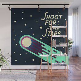 Shoot for the Stars Wall Mural
