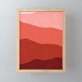 700 nm Framed Mini Art Print