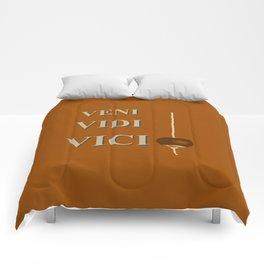 I came, I saw, I CONKERED! Comforters