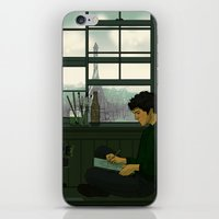 grantaire iPhone & iPod Skins featuring Grantaire by rdjpwns