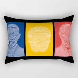 Snowden Triptych Rectangular Pillow