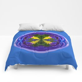 Dandy Four Abstract Globe Comforters