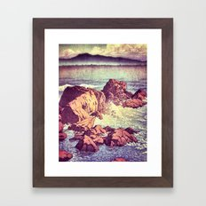 Stopping by the Shore at Uke Framed Art Print