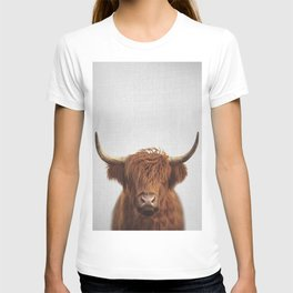 Highland Cow - Colorful T-shirt