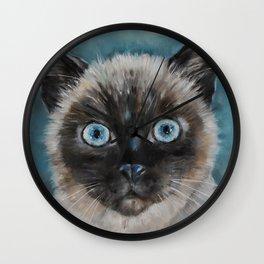 Baby Blu Wall Clock