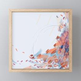 Slipping. Sinking. Soaring. Framed Mini Art Print