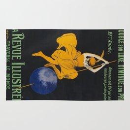 Vintage poster - La Revue Illustree Rug