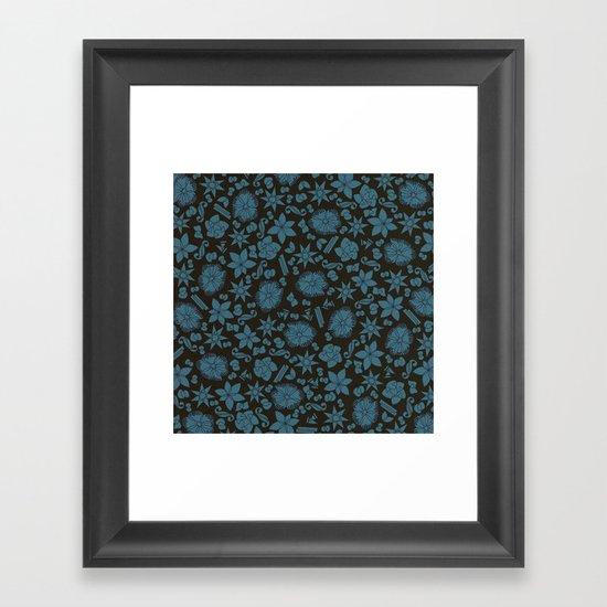 intersection v3 Framed Art Print