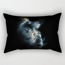 Fire on the Mound - In Broken Tongue Rectangular Pillow