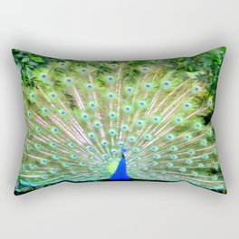 Peacock Feathers | Bird | Birds | Nadia Bonello | Canada Rectangular Pillow