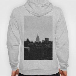 Empire State Building Manhattan in New York City Hoody