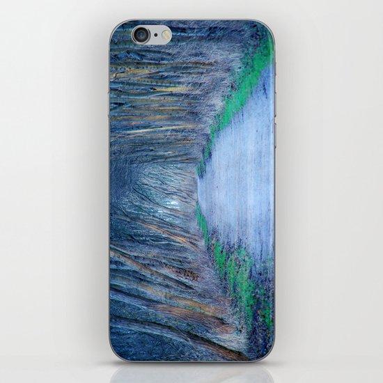 the blue way iPhone & iPod Skin