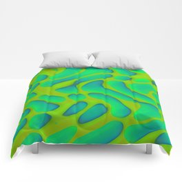 Dropped pattern ... Comforters
